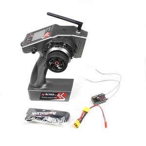 Image 1 - Radyolink RC6GS V2 verici 2.4G 6CH RC araba tekne kontrol verici ve R7FG içinde Gyro alıcı