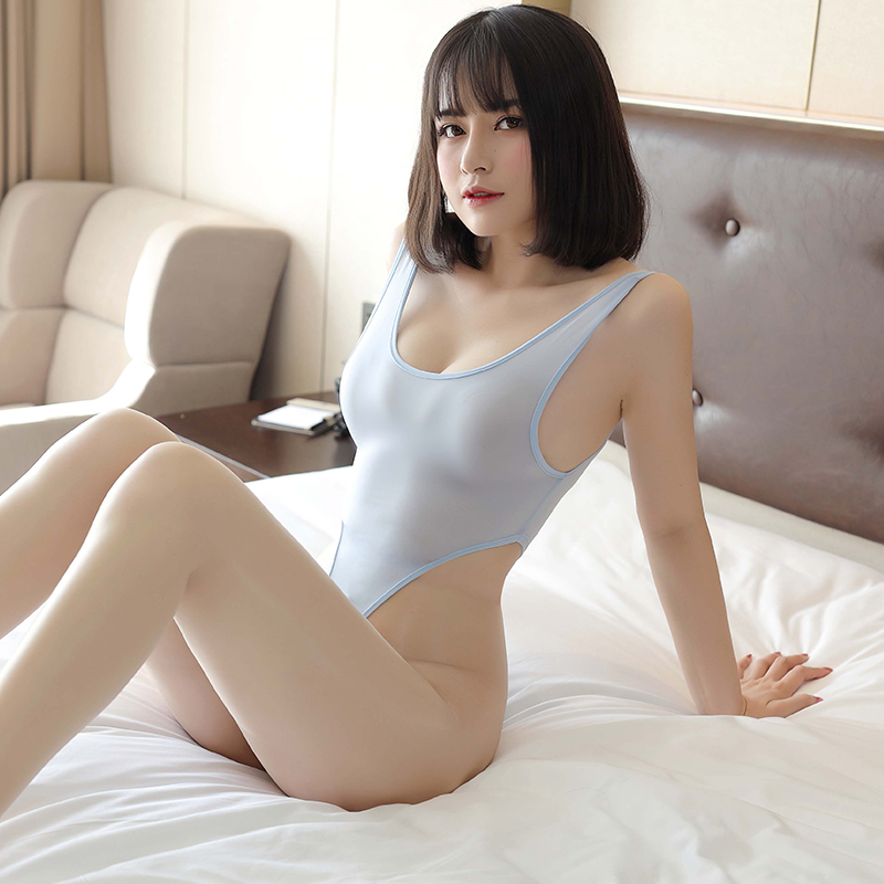 High Elasticity Transparent Sheer Milk Erotic Lingerie Women Porn