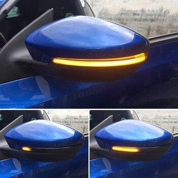 Dynamic Blinker for VW Scirocco MK3 Passat B7 CC LED Turn Signal Light EOS Beetle 2011 2014 Side Mirror Indicator for Volkswagen