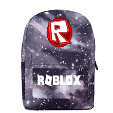 2019 Robloxer game School Bags casual backpack for teenagers Kids Boys Children Student  travel Shoulder Bag Unisex Laptop Bags недорого