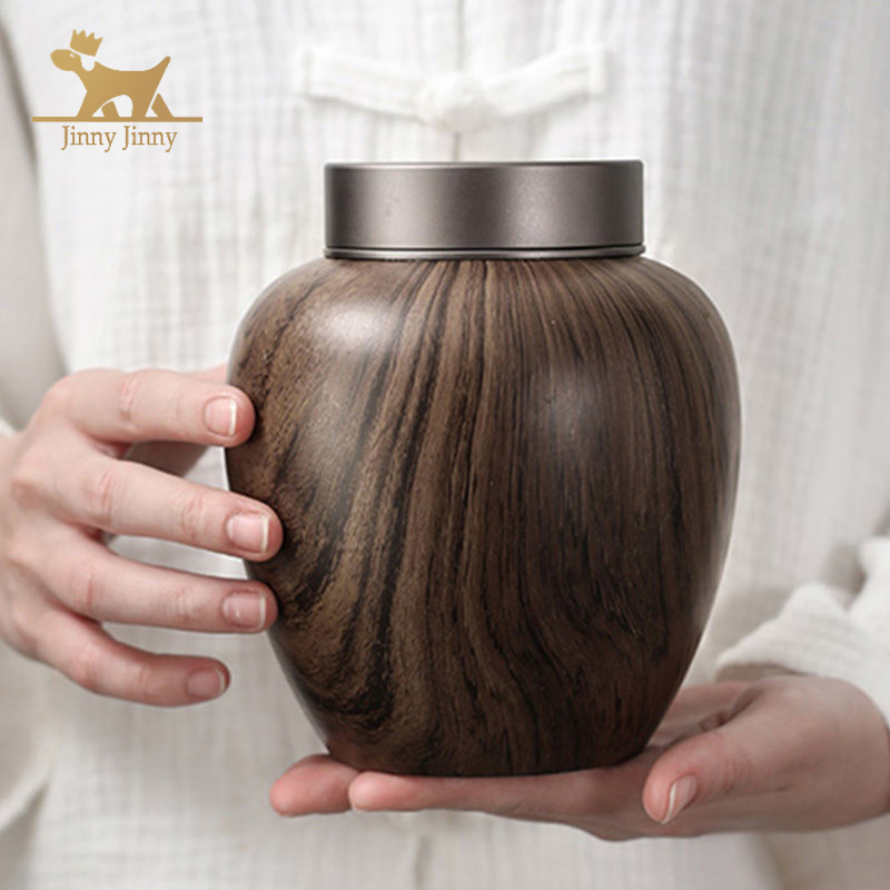 Dog Custom Feng Shui Cremation Urn,Funeral Cremation Urns for Dogs Cats, in Loving Memory Gone but Not Forgotten