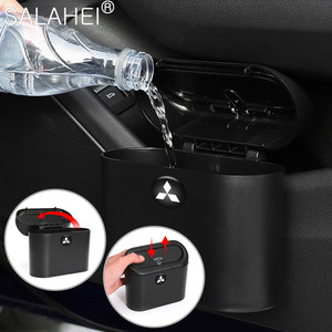 Image 3 - Car Trash Bin Garbage Can For Car Dustbin  Storage Holder Bag For Mitsubishi ralliart Lancer 9 10 Asx Outlander asx 3 Pajero