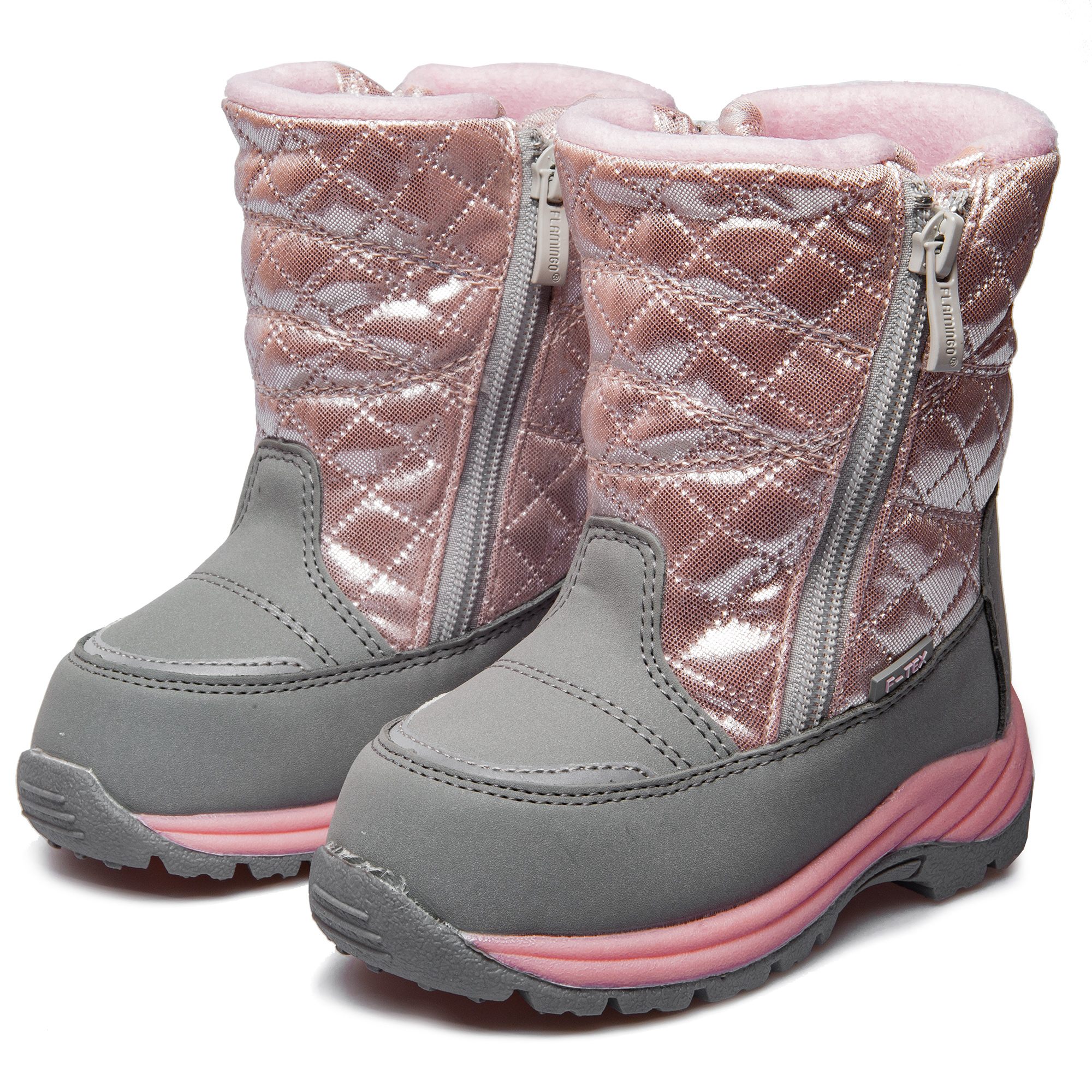 Flamingo shoes 92M-QK-1620 shoes for children 23-28 # flamingo winter anti slip waterproof wool warm high quality kids shoes orthotic arch size 23 28 snow boots for girl 82m qk 0946
