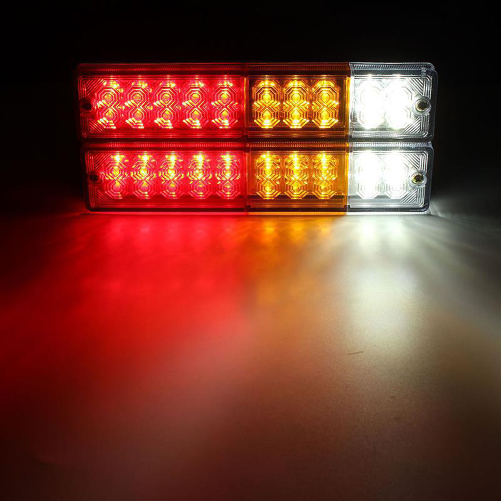 LED Taillight Car Trailer Stopped Back Reverse Indicator Lights Lamp Headlight