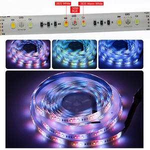 Image 5 - LED Strip RGBCCT Set RGB + Warm White + Cold White 5 Colour LED Strip 5m + 28Key RF Remote Controller + DC12V Power Adapter