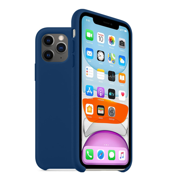 Luxury Silicone Case For iphone 7 8 Plus 6S 6 11 Pro X XS MAX XR Case on for Apple iphone 7 8 plus X 11 Cover Official Original