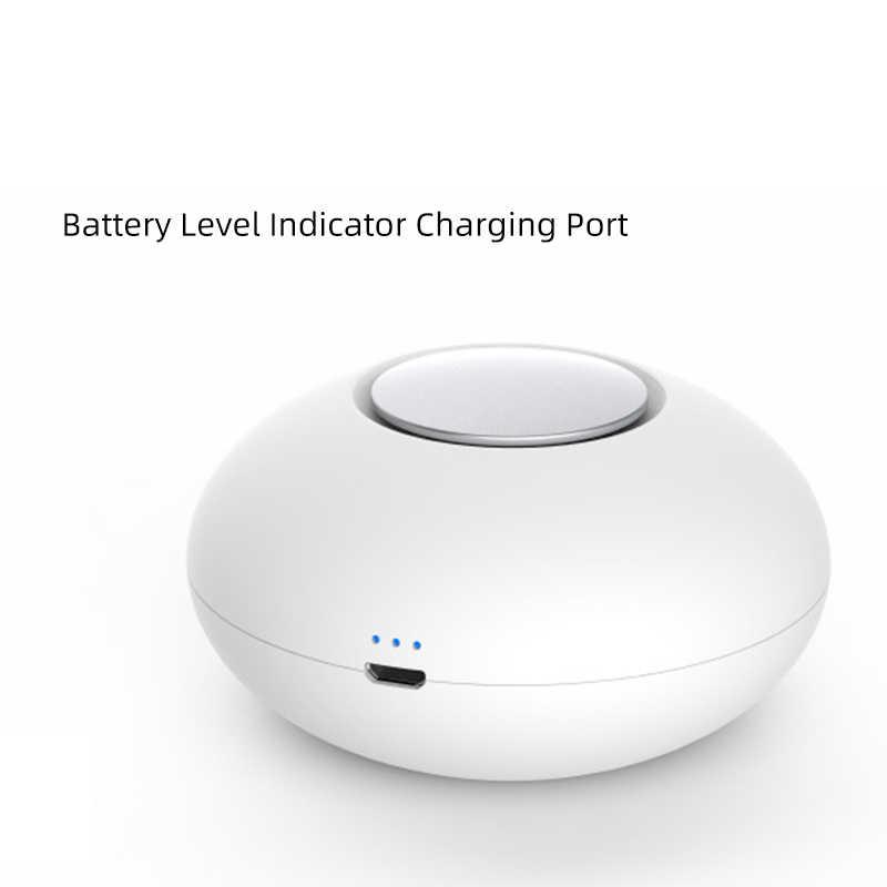 Мини озоновый генератор, дезодорирующий очиститель воздуха, USB Перезаряжаемый очиститель для холодильника, портативный воздушный маленький прозрачный запах