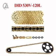 цена на ACZ DID 530 O Ring Seal Chain 120 Links for Dirt Bike ATV Quad MX Motocross Enduro Supermoto Motard Racing Off Road Motorcycle