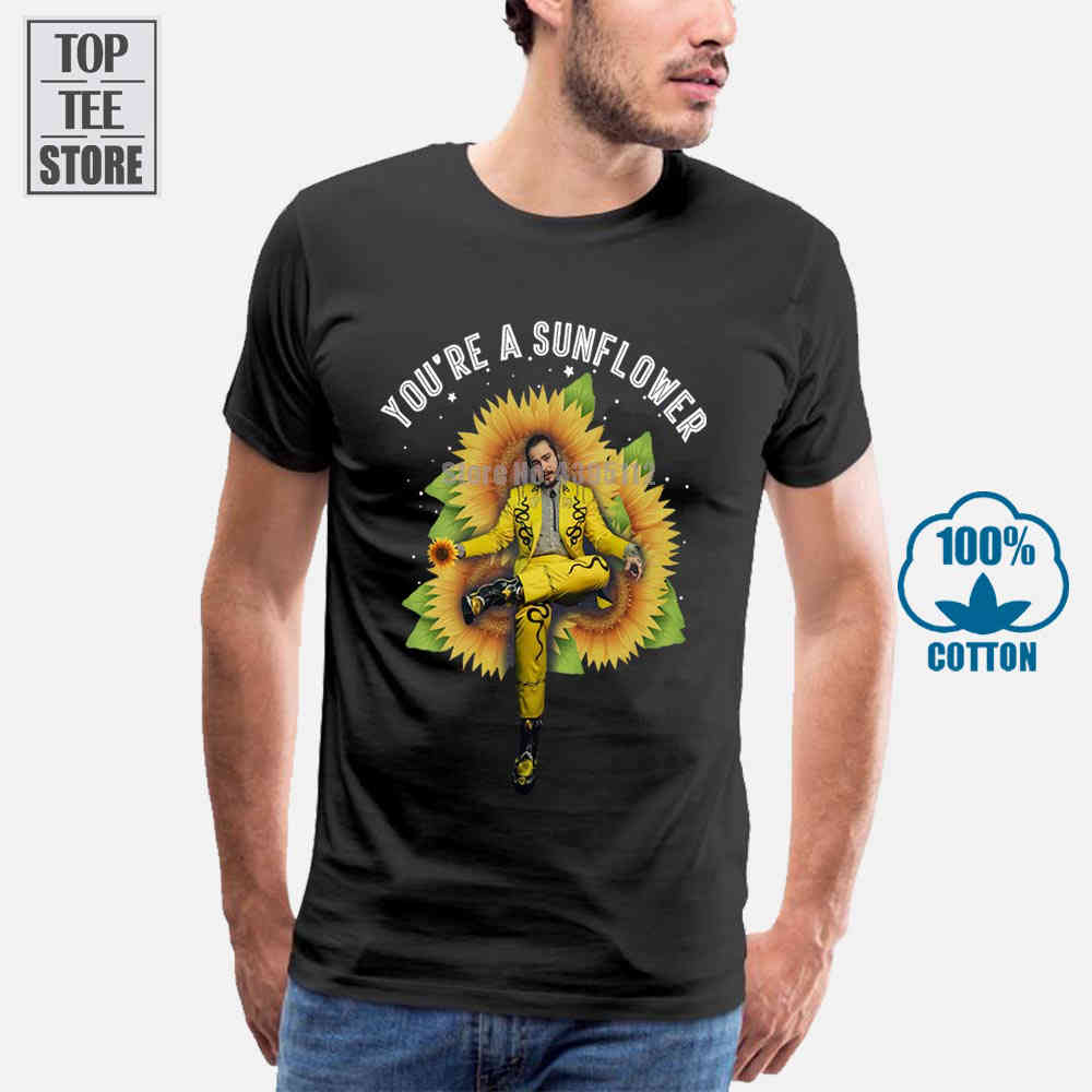 6XL Posty Malone Tee Funny Cool Clothes Shirt Black T Shirt S