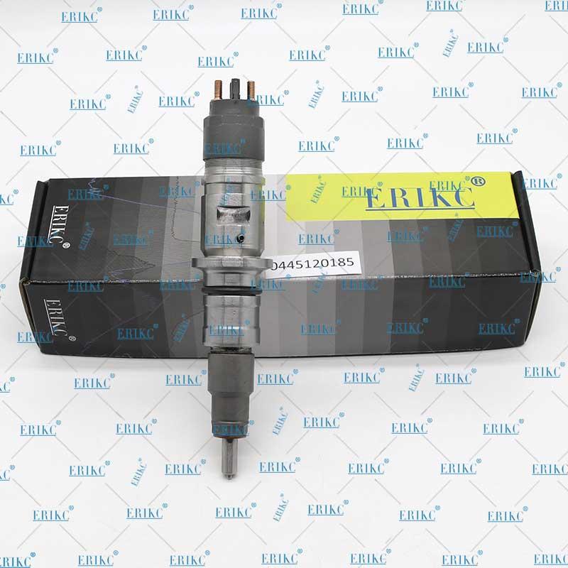 ERIKC 0445120185 Spare Parts Injector Original 0 445 120 185 Fuel Nozzle 0445 120 185 for Bosch CUMMINS Dodge 4981076 5253220 Fuel Injector     - title=