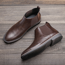 40 ~ 46 chelsea stiefel männer marke komfortable 2021 mode männer stiefel # KD5233