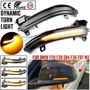 Image 4 - Led Repeater Licht Spiegel Knipperlicht Side Wing Dynamische Richtingaanwijzer Blinker Voor Bmw F20 F21 F22 F30 E84 1 2 3 4 Serie