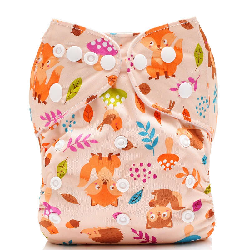 Washing Baby Best Pocket Cloth Diapers Waterproof Newborn Diaper Pats Reusable One Size Nappy Cover For 0-2 Years Old Baby