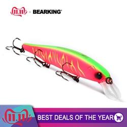 Bearking 2018 новая популярная модель 112 мм 15 г фиксированная система веса рыболовные приманки жесткая приманка для дайвинга 1,5 м качественный Воб...