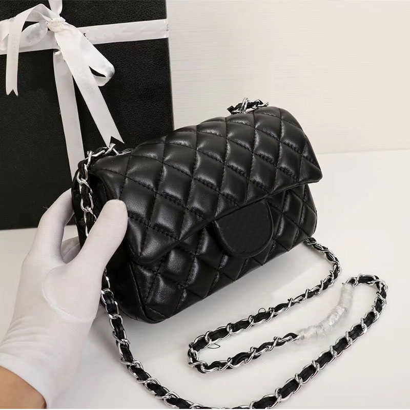 Top Grade Aprilla Famous Luxury Brand Designer Women Shoulder Bags Classical Diamond Lattice High Quality Sheepskin Leather Cha