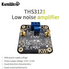 AMPLIFICADOR DE bajo ruido THS3121 alta corriente de salida alta tasa de giro ± 5V ~ ± 15V amplio voltaje de suministro