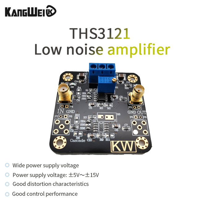 THS3121 Low Noise Amplifier High Output Current High Slew Rate ±5V~±15V Wide Supply Voltage