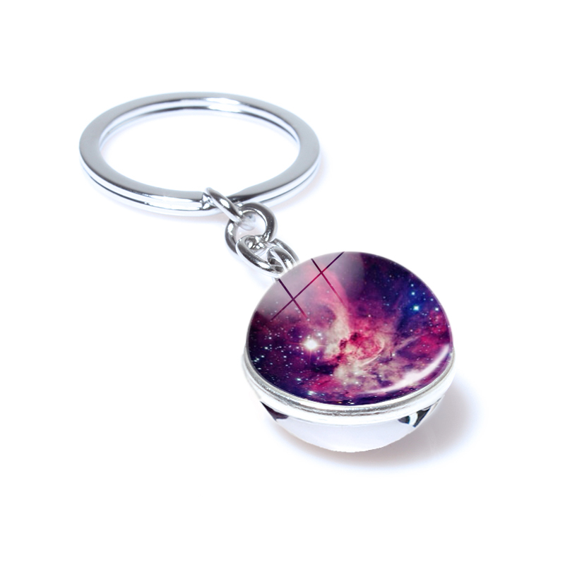 STARS GALAXY SPACE ASTRONOMY KEYRING LLAVERO