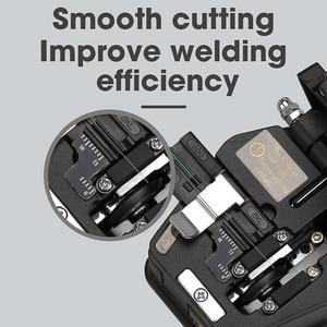Image 5 - جديد الألياف الساطور SKL 6C كابل قطع سكين FTTH الألياف البصرية سكين أدوات القاطع ألياف عالية الدقة الساطور 16 سطح شفرة