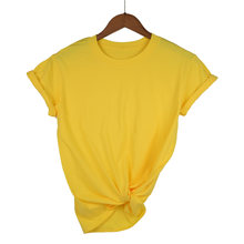 2021Camiseta de manga corta con cuello redondo para mujer, camiseta en varios colores, blanco y negro,