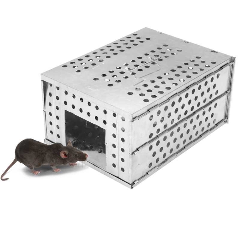 Large Space Continuous Mousetrap Foldable Home Anti-escape Rodent Device Outdoor High Efficiency Capture Snake Tool
