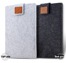 1 sztuk filcowa kieszeń na laptopa na notebooka torba na Tablet etui 6 7 8 10 11 12 13 14 15 17 dla Macbook air Pro Xiaomi dla kindle iPad(China)