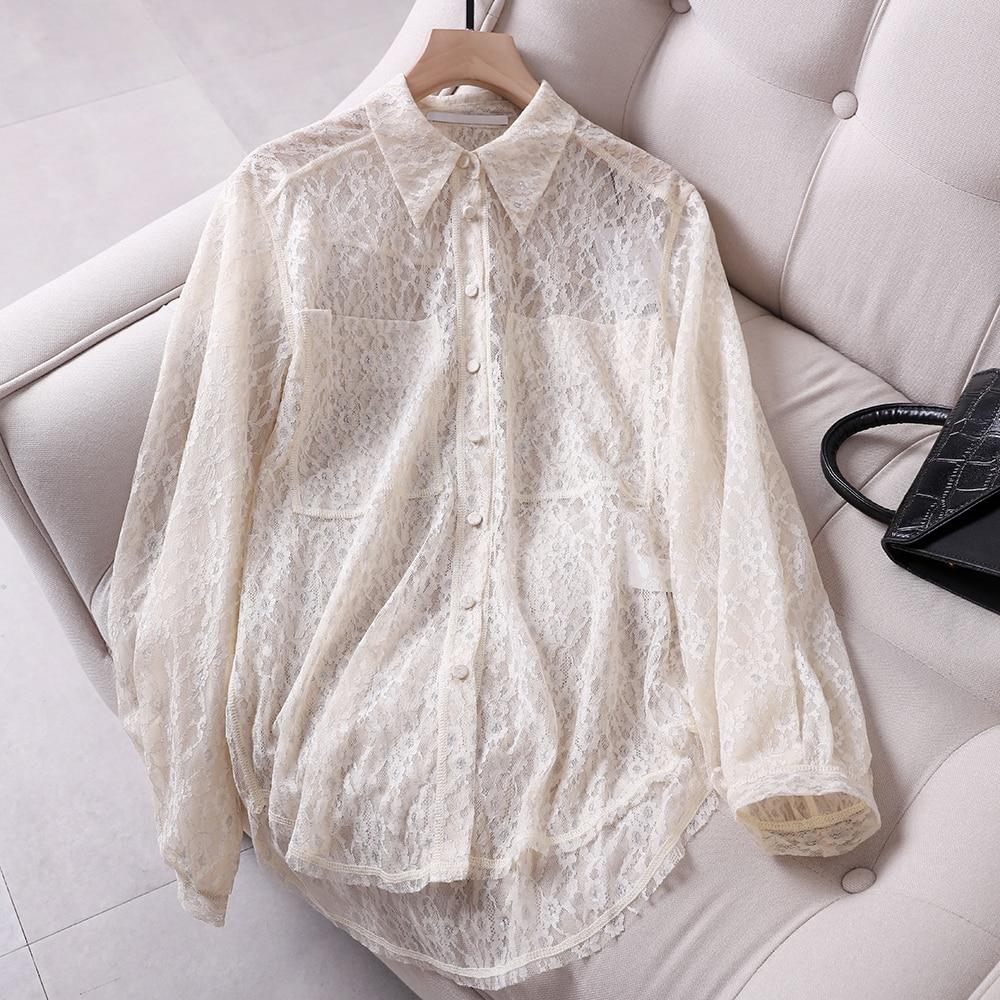 LD LINDA DELLA Runway Fashion Herfst Zijde Shirt vrouwen Butterfly Mouwen Bloemen Gedrukt Strik Elegante Vintage Losse Blouse - 5
