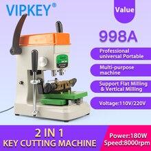 GOSO 998A machine professionnelle universelle et Portable pour copier les clés plates verticales, outils de serrurier