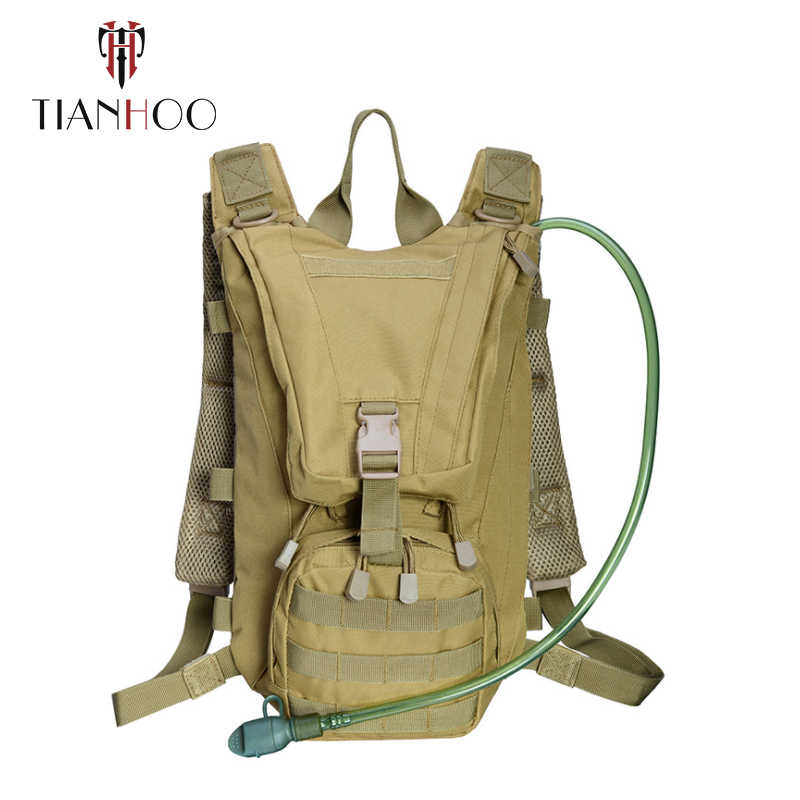 TIANHOO 高品質オックスフォード布スポーツバックパック肩の戦術バックパック屋外迷彩バックパック