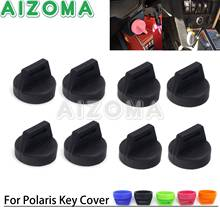 Pack Rubber Switch Key Cover Entry Key Fob Skin Case Protector for Polaris RZR XP1000 900 800 570 Ranger Can-Am Outlander UTV