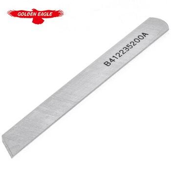 B4122-352-00A marca GOLDEN EAGLE para JUKI MO-352 cuchillo inferior industrial repuestos para máquina de coser fabricación de prendas