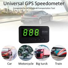 C60S Digital Car GPS Speedometer Speed Display KM/h MPH For Bike Motorcycle Over Alarm