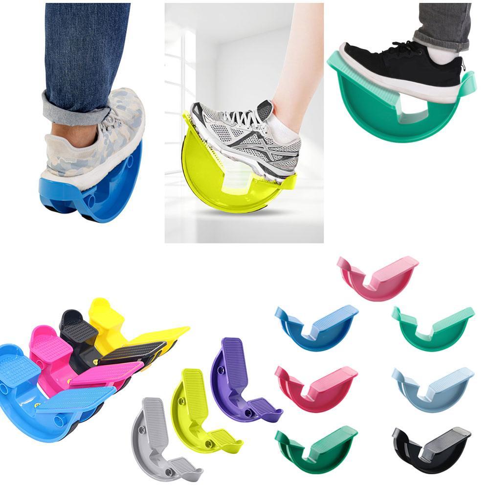 Pé rocker bezerro tornozelo placa de estiramento para tendinite aquiles muscular estiramento pé maca yoga fitness esportes massagem pedal