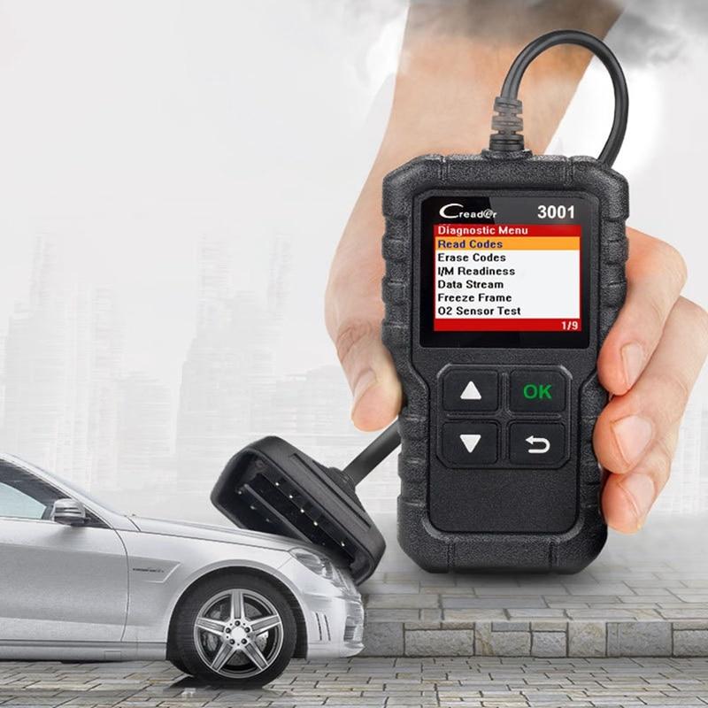STARTEN X431 CR3001 Volle OBD2 Scanner Launch Creader 3001 OBD II/EOBD Motor Code Reader Auto Diagnose werkzeug PK ELM327 Scan tool