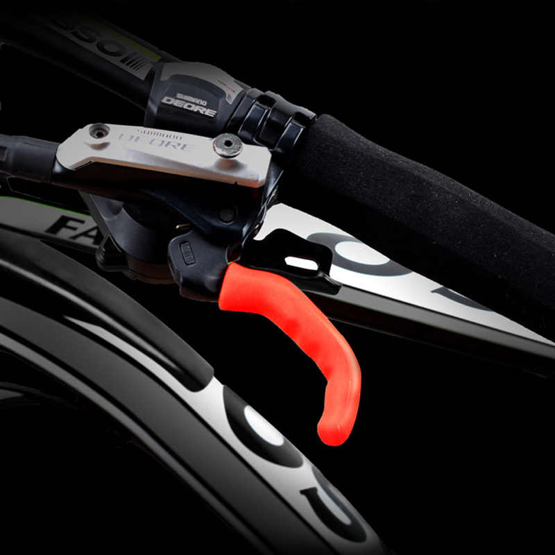 1 Pair Bike Brake Lever Covers Handlebar Grip Brake Lever Silicone Cover Replace