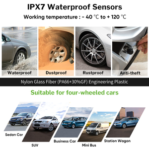 Image 4 - Deelife TPMS Solar Tire Pressure Sensor Monitoring System Tyre External Internal Sensors Car TMPS