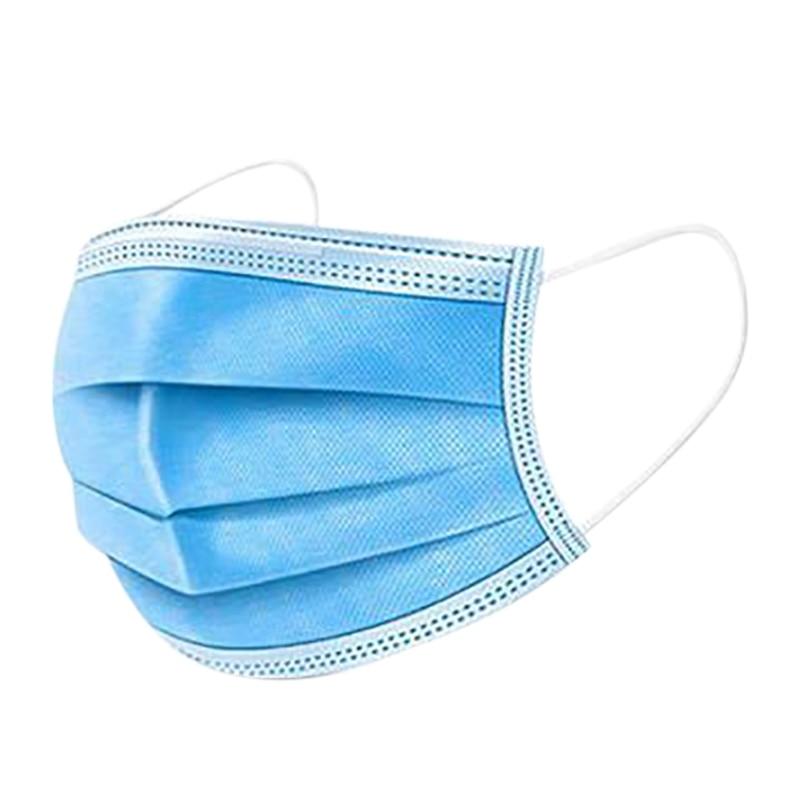 50Pcs Non Woven Disposable Face Mask Earloop Activated Carbon Anti-Dust Face Masks