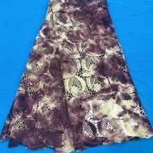 アフリカコードレース生地ナイジェリア水溶性コードレース生地スイス衣服布高品質DG512