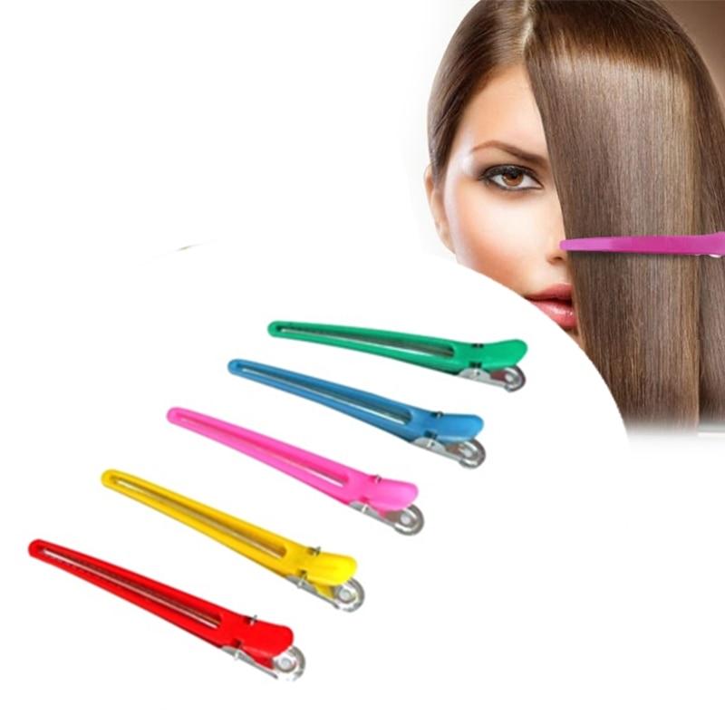 1/5/10 шт. Парикмахерские шпильки, специальная секция, зажим для волос, пластиковые заколки для волос, заколка для волос, инструмент для укладк...