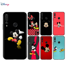 Silicone Cover Disney Cute Mickey Mouse For Huawei Honor 9 X 9N 8S 8C 8X 8 A V9 7S 7A 7C Pro lite Prime Play 3E Phone Case