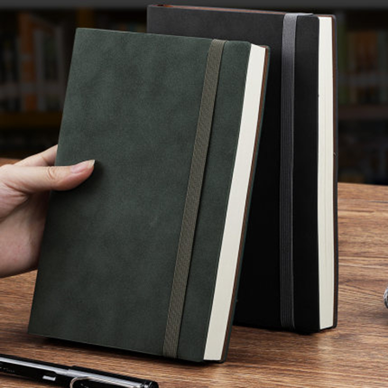 Sheep Pakistani Notebook Thickened Notebook Business Notebook College Students Retro Meeting Record This Work Book Simple Office