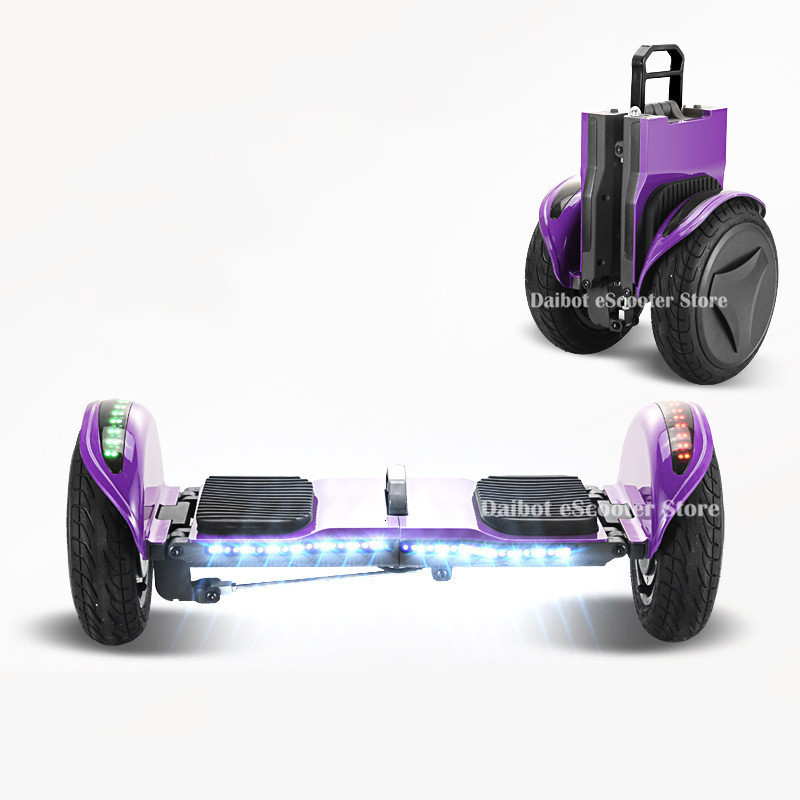 Daibot Off Road Electric Scooter Foldable 2 Wheels Self Balancing Scooters Double Drive 250W 36V Hoverboard Skateboard Bluetooth (20)