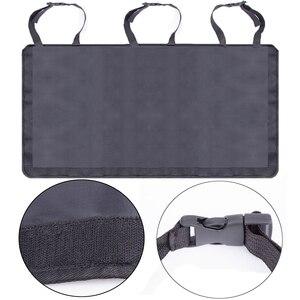 Image 4 - Car Trunk Organizer Adjustable Backseat Storage Bag Net High Capacity Multi use Oxford Automobile Seat Back Organizers Universal