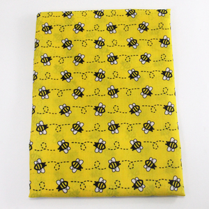 David accessories 50*145cm Bee Polyester cotton fabric for Tissue Kids Bedding home textile for Sewing Tilda Doll,1Yc9122