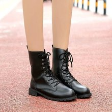 цена на 2019 Boots Women Genuine Leather Shoes For Winter Boots Shoes Woman Casual Spring Genuine Leather Botas Mujer Female Ankle Boots