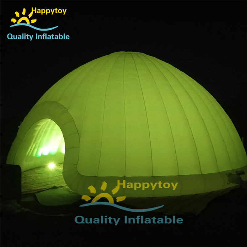 Large Outdoor Blow Up Dome Party Led Light Camping Tents Advertising Trade Show Air Sky Inflatable Tent Price For Outdoor Events