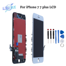 AAA Quality LCD Display Screen For iPhone 7 7 Plus Screen Pantalla LCD Touch Replacement Black/White Complete Assembly Digitizer