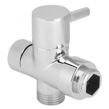 Zawór prysznicowy 2in gwintowany zawór prysznicowy zawór prysznicowy zawór 1 wlot 2 wylot zawór prysznicowy zawór akcesoria łazienkowe tanie i dobre opinie Aramox Cynk-stop CN (pochodzenie) NONE Chrome Metal Shower Shower Diverter