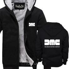 New Mens / unisexs Unisex DMC DeLorean warm coat Back To The Future Retro hoodie Mcfly hoodie big size sbz5039