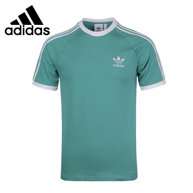 Original New Arrival  Adidas Originals 3-STRIPES TEE Men's T-shirts short sleeve Sportswear